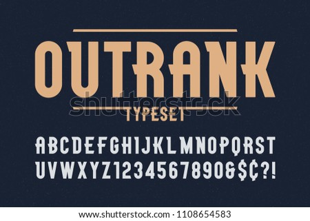 outrank trendy vintage display...