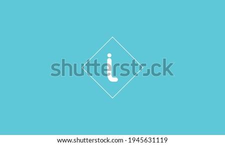 Outstanding IL initial vector monogram letter logo, IL logo , IL letter logo template blue background. Foto d'archivio ©