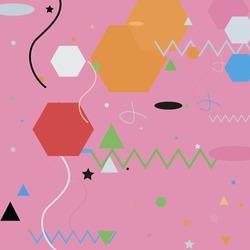 Oval Blue Lines Triangle Grey Geometrical Art Illustration. Chaos Silver Pastel Green Vector Design Pic. Pink Shadows Black Polygon Modern Simple Hipster Art. Orange Calm Zigzag Ornamental Fabrics.