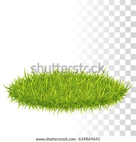 oval carpet of green fresh