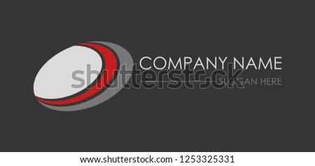 Oval logo brand identity