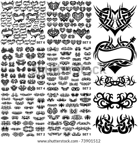 over 150 tribal tattoos set 1 6