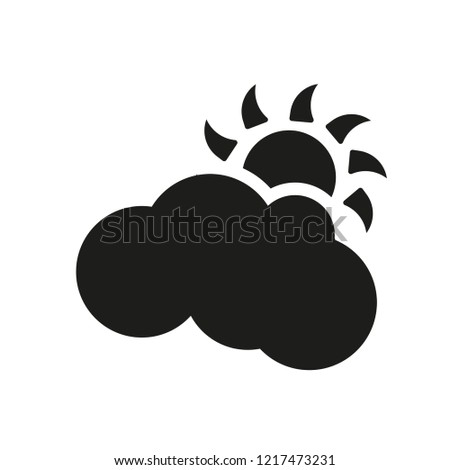 Overcast icon. Trendy Overcast logo concept on white background from Weather collection. Suitable for use on web apps, mobile apps and print media.