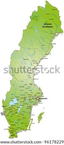 VFA Sweden - Sweden industry map