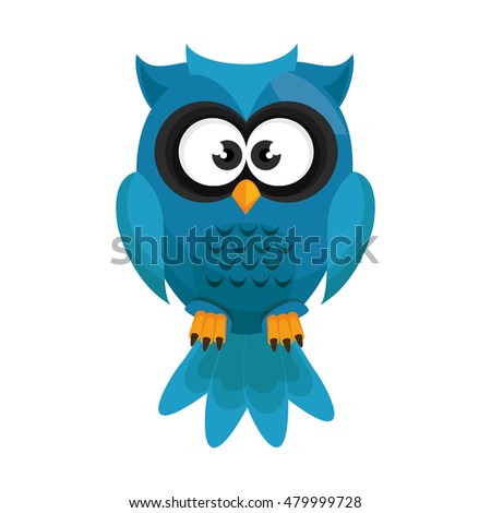 owl bird cartoon