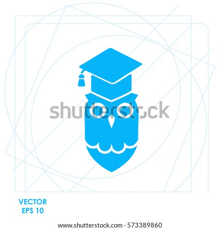 owl  icon vector design
