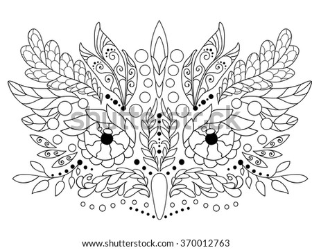Bohemian Pages Coloring Pages