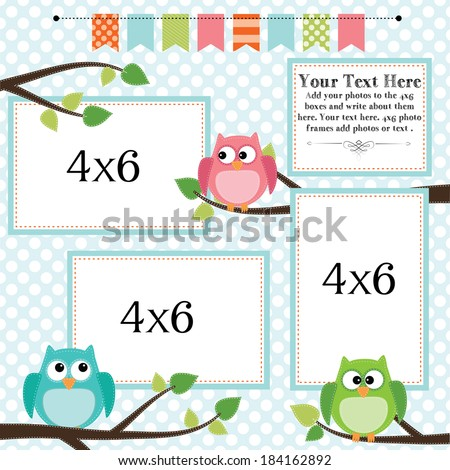 Invaluable image pertaining to printable picture frames 4x6