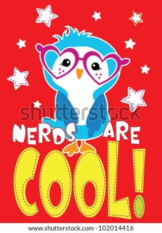 owl / T-shirt graphics / cute cartoon characters / cute graphics for kids / Book illustrations