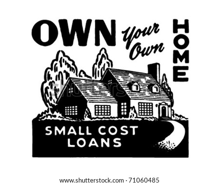 own your own home 2   retro ad...