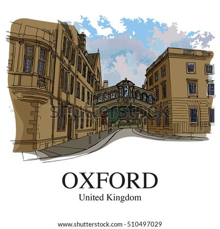 oxford  uk  hertford bridge