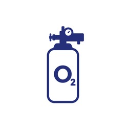 oxygen cylinder or tank icon