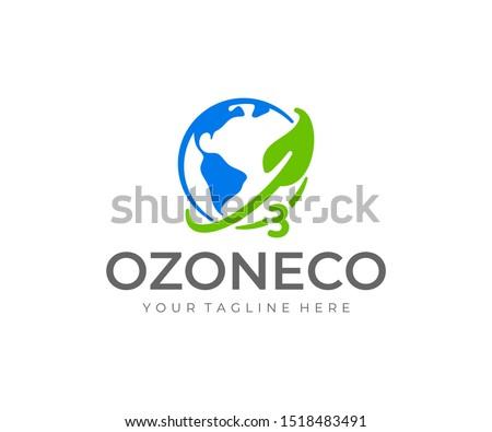 ozone logo design world ozone