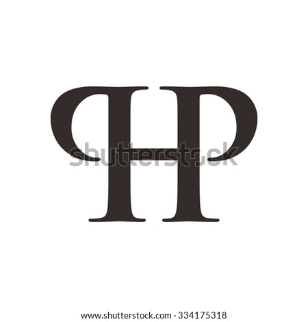 p and h logotype