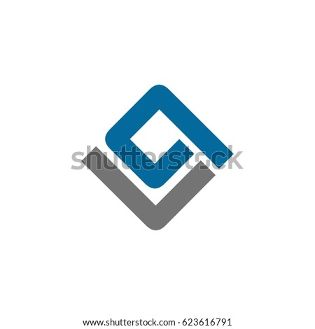 P L letter Stock fotó ©