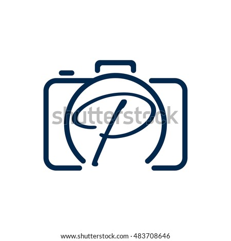 P photography logo design