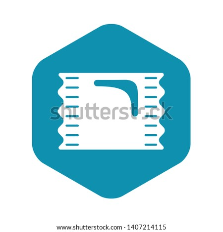 Pack candy icon. Simple illustration of pack candy vector icon for web design isolated on white background