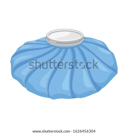 Pack ice vector icon.Cartoon vector icon isolated on white background pack ice. Stock photo ©