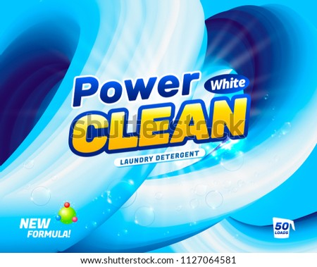 packaging design template for laundry detergent download free