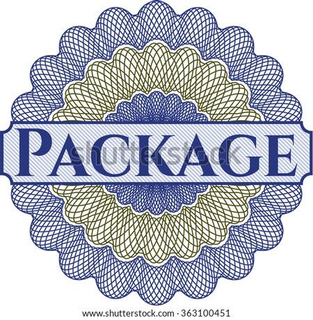 Package linear rosette