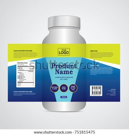 Package template design, Label design, mock up design label template #751815475