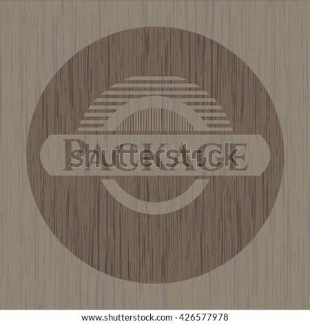Package wood emblem