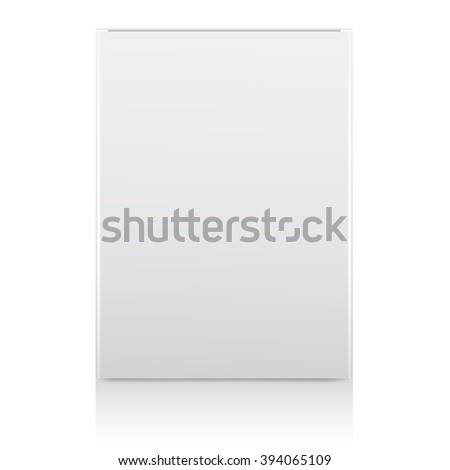 Shutterstock Packaging in front view : Vector Illustration