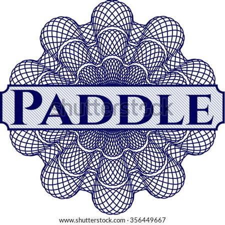 Paddle linear rosette