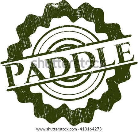 Paddle rubber seal