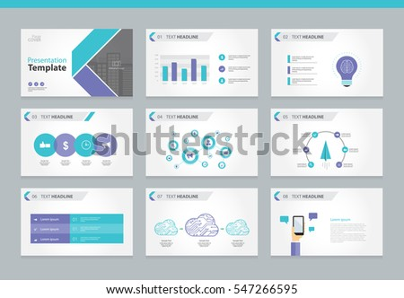 Page layout design template for presentation and brochure , Annual report, flyer and book page with infographic elements design.with flat vector cover  backgrounds