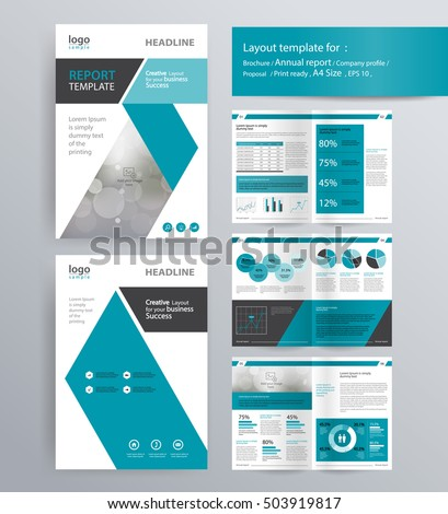 Royalty Free Stock Photos And Images Page Layout For Company - Company profile brochure template