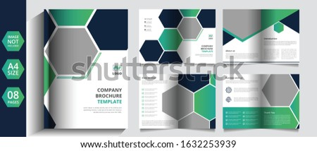 pages company Brochure and company profile template