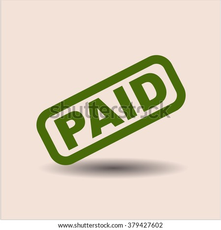 Paid symbol