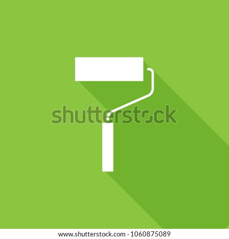 Pain roller icon, stock vector, eps10.