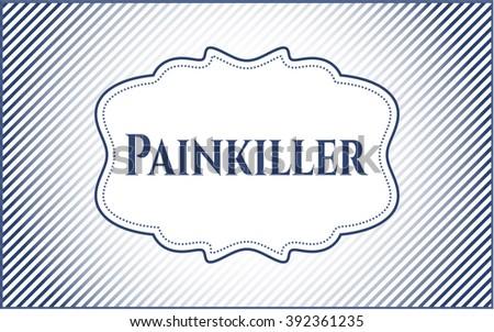 Painkiller card or banner