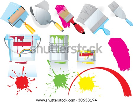 Paint and tools