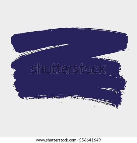 Paint banner. Brush stroke. Vector grunge spot with place for your text.