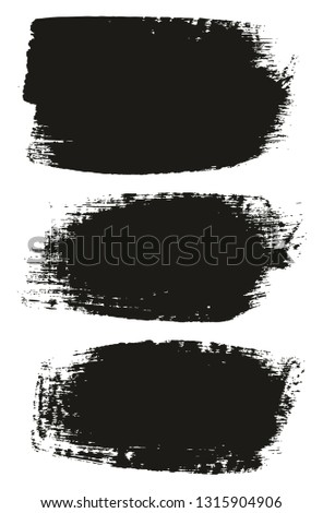 Paint Brush Medium Background High Detail Abstract Vector Background Set 53 #1315904906