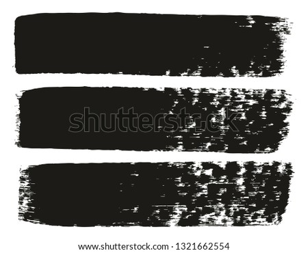 Paint Brush Medium Lines High Detail Abstract Vector Background Set 71 #1321662554