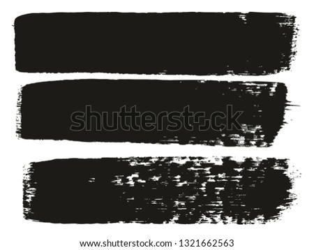 Paint Brush Medium Lines High Detail Abstract Vector Background Set 67 #1321662563