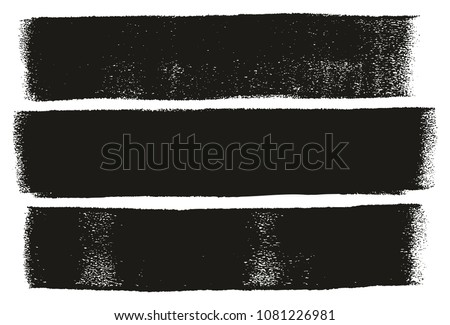 Paint Roller Bold Lines High Detail Abstract Vector Lines & Background Set 11