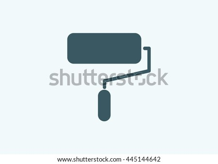 paint roller icon paint roller