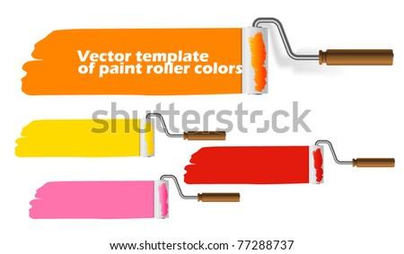 paint roller set web template