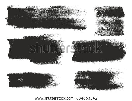 Paint Roller Strokes Vector Patterns and Vector Backgrounds Set 01