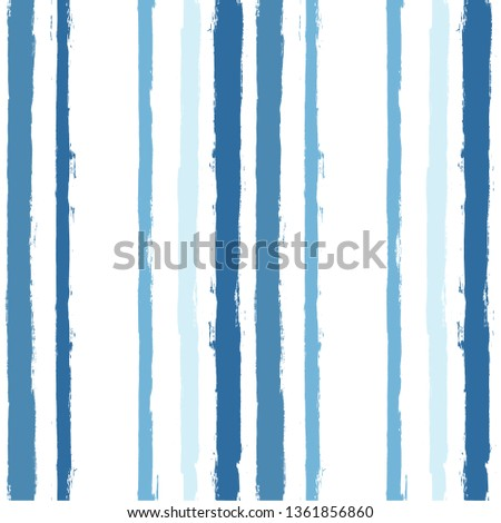paint stripe pattern. vector Hand drawn striped geometric background. blue ink brush strokes. grunge stripes, modern paintbrush line for wrapping, wallpaper, textile