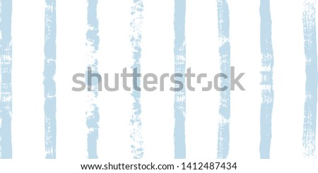 paint stripe Seamless pattern. vector Hand drawn striped marine background. blue ink brush strokes. grunge navy stripes, modern paintbrush line for wrapping, wallpaper, textile