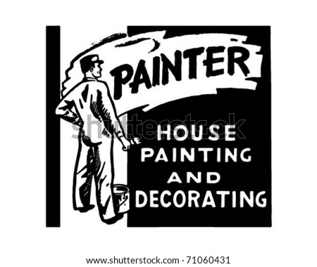 Painter 2 - Retro Ad Art Banner