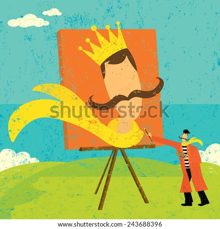 painting a future self portrait
