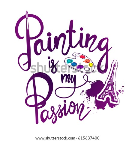 painting is my passion t shirt