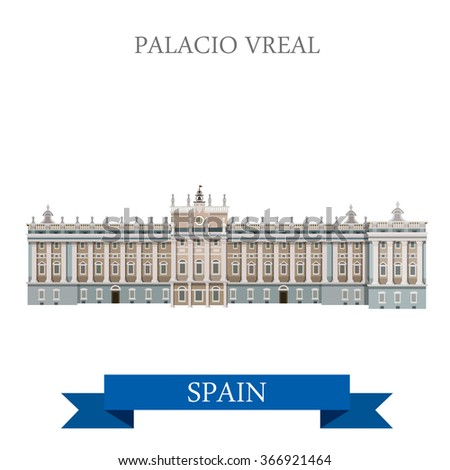 palacio real in madrid spain